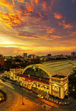 Hua Lamphong Stock Photography