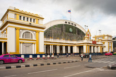 Hua Lamphong Grand Central Railway Station Royalty Free Stock Photo