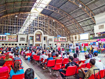 Hua Lamphong Railway Station Stock Photo