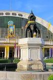 Hua Lamphong Railway Station Bangkok, Thailand fotografering för bildbyråer