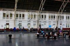 Hua Lamphong Railway Station Bangkok, Thailand arkivbilder