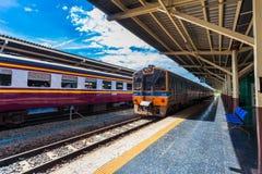 Hua Lamphong Railway Station in Bangkok, Thailand. Royalty Free Stock Image