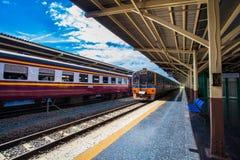 Hua Lamphong Railway Station in Bangkok, Thailand. Stock Photography