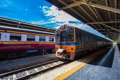 Hua Lamphong Railway Station in Bangkok, Thailand. Stock Photo