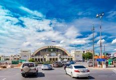 Hua Lamphong Railway Station in Bangkok, Thailand. Royalty Free Stock Photography