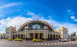 Hua Lamphong Railway Station in Bangkok, Thailand. Royalty Free Stock Photos