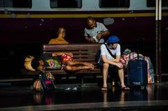 Hua Lamphong Railway Station Royalty Free Stock Photo