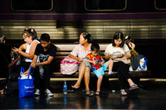 Hua Lamphong Railway Station Stock Image