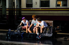 Hua Lamphong Railway Station Stock Photography