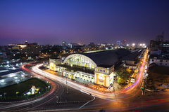 Hua Lamphong stacja Fotografia Stock