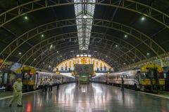 Hua Lamphong Station, Bangkok, Thailand Royalty-vrije Stock Foto's