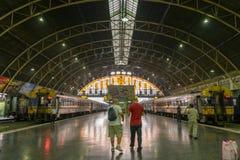 Hua Lamphong Station, Bangkok, Thailand Stock Foto's