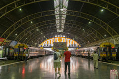 Hua Lamphong Station, Bangkok, Thailand Stock Photos