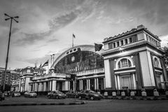 Hua Lamphong Station, Banguecoque, Tailândia Fotos de Stock Royalty Free