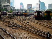 Hua Lamphong Station, The main railway station in Bangkok, Thail Stock Images