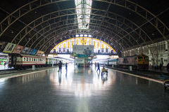 Hua Lamphong train station Royalty Free Stock Image