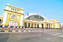 Hua Lamphong Uroczysta Środkowa stacja kolejowa Zdjęcia Royalty Free