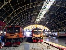 Hua Lampong linii kolejowej stacja zdjęcia royalty free
