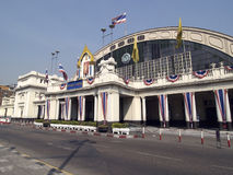 Hua Lampong station in Bangkok Royalty Free Stock Photo