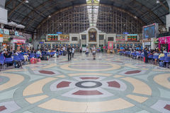 Hua Lampong station main hall Stock Images