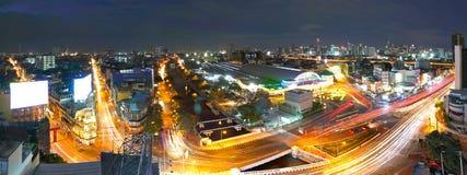 Hua Lomphong Bangkok Railway Station royaltyfri foto