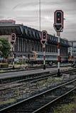 Hua Lum Pong-Bahnstation Bangkok, Thailand Lizenzfreie Stockfotos