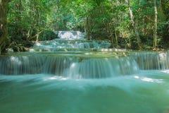 Hua Mae Kamin Water fall  Kanchanaburi, Thailand Royalty Free Stock Image