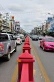Hua Miasto uliczny Widok Hin zdjęcia stock