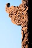 Huabiao na frente de Tian'anme Fotos de Stock