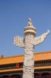 Huabiao Tiananmen Square Royalty Free Stock Photos