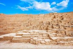 Huaca Pucllana, Lima lizenzfreie stockbilder