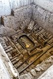 Huaca Rajada, kungliga gravvalv av Herren av Sipan Chiclayo Peru Royaltyfria Bilder