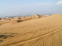 Huacachina沙漠 免版税图库摄影