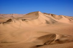 Huacachina, Перу Стоковое Фото