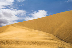 Huacachina desert,peru royalty free stock image
