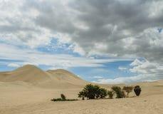 Huacachina no Peru fotografia de stock