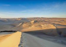 Huacachina no Peru imagens de stock
