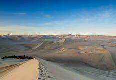Huacachina no Peru imagem de stock