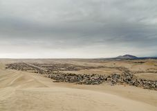 Huacachina no Peru fotos de stock royalty free