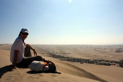Huacachina Oasis Royalty Free Stock Images