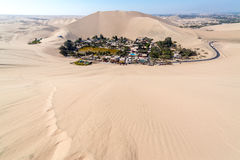 Huacachina Oasis Stock Photography