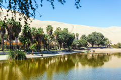 Huacachina Oasis Royalty Free Stock Photography