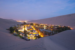 Huacachina, Peru Obraz Royalty Free