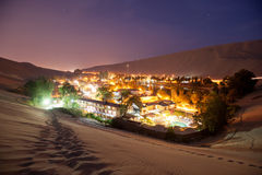 Huacachina, Peru Royalty Free Stock Image