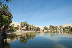 Huacachina, Peru Royalty-vrije Stock Foto