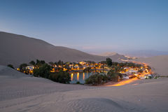 Huacachina, Peru Foto de Stock Royalty Free