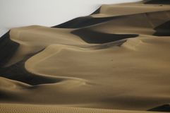 Huacachina piaska diuny Peru krajobraz Podr?? zdjęcia stock