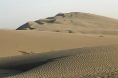 Huacachina piaska diuny Peru krajobraz Podr?? fotografia royalty free