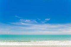 huahin ουρανός Ταϊλάνδη θάλασσ&al Στοκ φωτογραφία με δικαίωμα ελεύθερης χρήσης