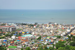 Huahin. Landscape view of Huahin, Thailand Royalty Free Stock Image